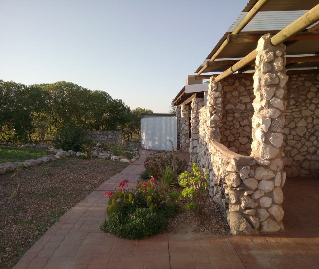 Masada Guest House bed & breakfast room porch
