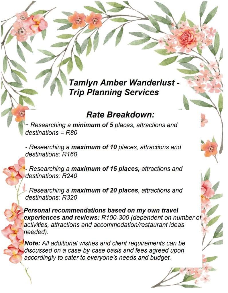 rate-breakdown-trip-planning-tamlyn-amber-wanderlust