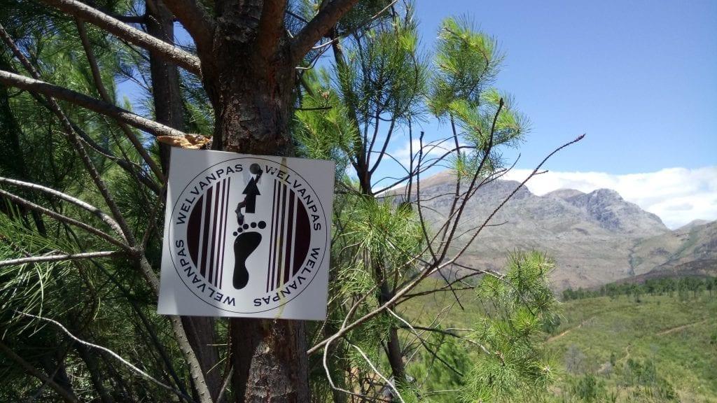 welvanpas-hike-marker